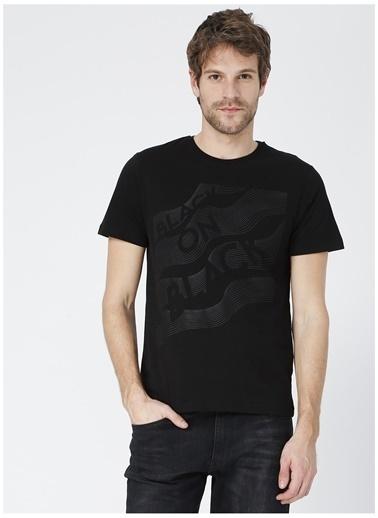 Black On Black Black On Black Lasvegas Siyah Erkek T-Shirt Siyah